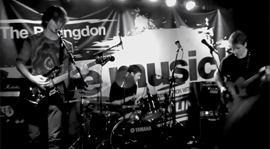 The Pastel Frontier - Rosewater LIVE @ The Bullingdon, Oxford